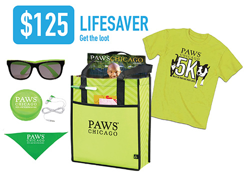 PAWS Chicago 5k Walk/Run: Automatic Lifesaver - Sponsors a m